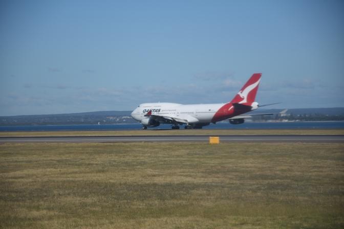 Safe landing in Darwin