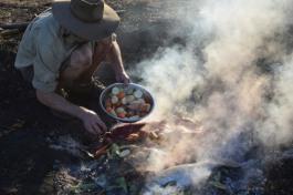 Dinner on Aboriginal land